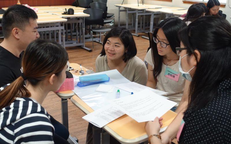 經驗知識的共享共學─互動式三階段TA培力工作坊
