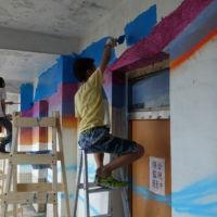 與海為伍-晨光校園彩繪計畫